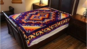 Native American Super Plush Blanket El Paso Designs southwest Native American Super Plush