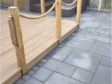 Nautical Rope Deck Railing Millboard 39 Smoked Oak 39 Composite Decking with New Oak and