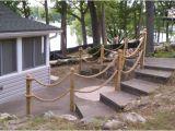 Nautical Rope Deck Railing Nautical Rope Railing Idea Deck Designs Pinterest