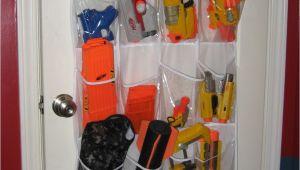 Nerf Gun Storage Ideas Moore Magnets Shoe Racks as toy Storage