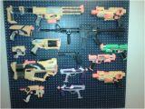 Nerf Gun Storage Rack Nerf Gun Rack We Had to Control the Chaos somehow