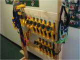 Nerf Gun Storage Rack Nerf Storage Ideas A Girl and A Glue Gun