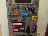 Nerf Gun Storage Wall Ideas Nerf Storage Ideas A Girl and A Glue Gun