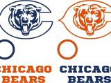 Nfl Decals for Bean Bag Boards Chicago Bears Cornhole Set Of 6 Vinyl Decals Stickers Bean