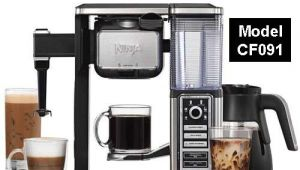 Ninja Coffee Bar Cf091 Review Ninja Coffee Bar Brewer System with Glass Carafe Cf091