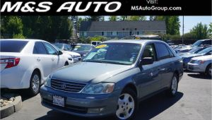 Offer Up Cars for Sale Sacramento Pre Owned 2004 toyota Avalon Xls 4dr Car In Sacramento A23016 M