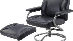 Office Chair with Footrest Walmart Mainstays Plush Pillowed Recliner Swivel Chair and Ottoman Set