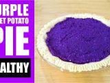 Okinawan Purple Sweet Potato Pie Amazing Healthy Purple Sweet Potato Pie Recipe Purple Sweet Potato