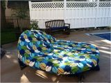Orbit Lounger Replacement Cushions Diy orbit Lounger Recovered with Outdoor Fabric Gunna