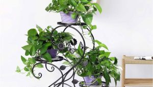 Outdoor Plant Stands Walmart Hlc 3 Tier Metal Plant Stand Garden Patio Flower Pot Rack Modern S