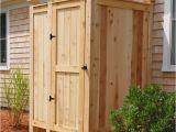 Outdoor Shower Enclosure Kits Cape Cod Outdoor Shower Enclosure Cedar Showers