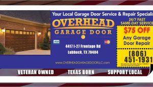 Overhead Garage Door Lubbock Tx Overhead Garage Door Specials the Lubbock Overhead Garage Door Team