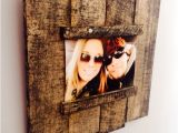 Pallet Wood Picture Frame Ideas Items Similar to Reclaimed Wood Pallet Picture Frame On Etsy