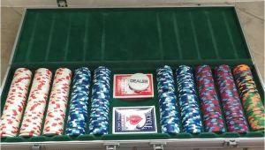 Paulson Clay Poker Chip Sets Paulson Clay Poker Chip Set Casino De isthmus 500 Chips