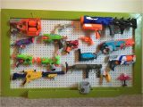 Pegboard for Nerf Guns Nerf Gun Storage Rack Pegboard 36×48 or Customize Your