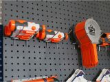 Pegboard for Nerf Guns Nerf Wall Pegboard Storage Sugar Bee Crafts