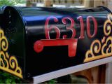 Personalized Magnetic Mailbox Covers Mailbox Magnet Partial Cover Door Of Mailbox Corner Scroll