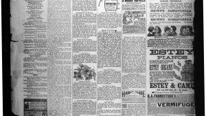 Piano Movers St Louis Jacksboro Gazette Jacksboro Tex Vol 8 No 5 Ed 1 Thursday