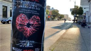 Pick and Pull Vancouver Bc B C to Commemorate International Overdose Awareness Day with events
