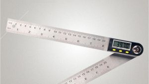 Picture Of Measuring tools with Name 2019 Multifunctional Measuring tool Digital Angle Ruler 360 Lcd