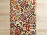 Pier One Rugs 8×10 Vibrant Paisley Wool Rug Pier 1 Imports