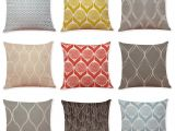 Pillow Shams Vs Cases Leaf Texture Geometric Pattern Linen Cushion Covers Home Office sofa