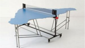 Ping Pong Table Shaped Like Easter island Ping Pong Table Shaped Like Easter island Neatorama