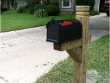 Plans for 6×6 Mailbox Post Mailbox Post Posts and 4×4 On Pinterest