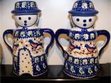 Polish Pottery Salt and Pepper Shakers the Momoo Checkbook Cover