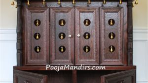 Pooja Mandir for Home In Usa Pooja Mandirs Usa ashvini Collection Closed Model Pooja Mandir