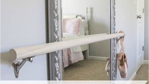 Portable Ballet Barre Diy Diy Ballet Barre and How to Hang A Heavy Mirror Inspiring Diy