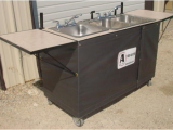 Portable Sinks with Hot and Cold Water 3 Basin Hot Cold Water Sink A Company Portable Restrooms