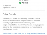 Pre Approval for Comenity Bank Expired Chase Offers 10 Back at Office Depot Max Up to 10