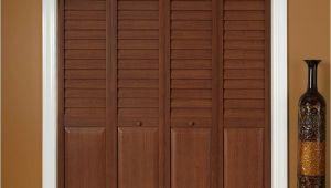 Puertas De Closet Home Depot Mexico Home Fashion Technologies 18 In X 80 In 3 In Louver Panel Dark