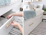 Pull Down Single Bed Ikea 21 Best Ikea Storage Hacks for Small Bedrooms