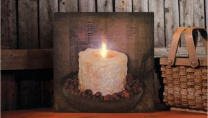 Radiance Flickering Light Canvas Christmas Birch Candles Flickering Lights Radiance Lighted Canvas