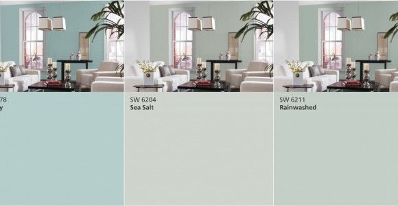 Rainwashed Vs Sea Salt Sherwin Williams Watery Vs Sea Salt Vs Rainwashed Real Life