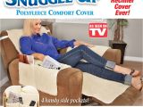 Recliner Covers as Seen On Tv sobakawa Snuggle Up Recliner Slip Fleece Comfort Chair