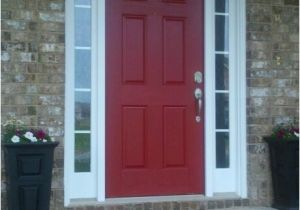 Red Front Door Lowes My Front Door Lowes Front Door Red Outside Decorating