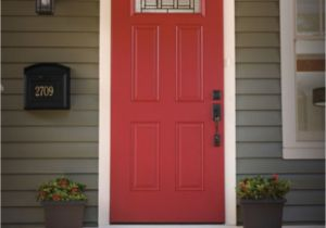 Red Front Door Lowes Shop Exterior Doors at Lowes Com