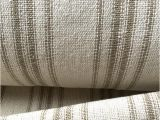 Reproduction Feedsack Fabric by the Yard Grain Sack Fabric Tan Stripes Vintage Inspired sold by the