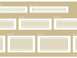 Return Air Filter Grille Sizing Chart Registers Buying Guide