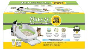 Reviews On Breeze Litter Box Amazon Com Purina Tidy Cats Breeze Cat Litter System Starter Kit