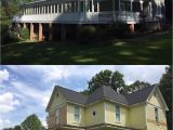 Rhinoshield Never Paint Your House Again before and after Of A Home Coated with Rhino Shield In Easley south