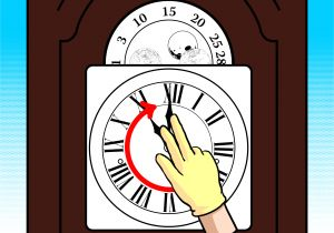 Ridgeway Grandfather Clock Won T Chime How to Wind A Grandfather Clock 10 Steps with Pictures