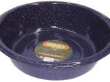 Round as A Dishpan New Columbian F6414 6 Blue Granite Dish Pan 10 Quart