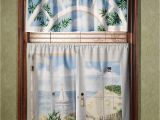 Seashore or Nautical Window Valances Beautiful Nautical Curtains for Shower and Windows