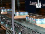 Simmons Pet Food Brands Palletizing and Accumulation Conveyor System Simmons Pet
