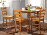 Simple Living 5 Piece tobey Compact Round Dining Set Shop Simple Living Round Counter Height 5 Piece Dining Set