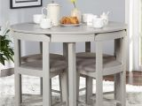 Simple Living 5 Piece tobey Compact Round Dining Set Simple Living 5 Piece tobey Compact Round Dining Set